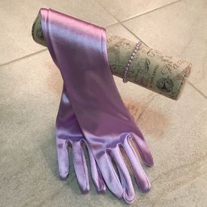 Accessories - ✨💜LONG•SATIN•GLOVES✨